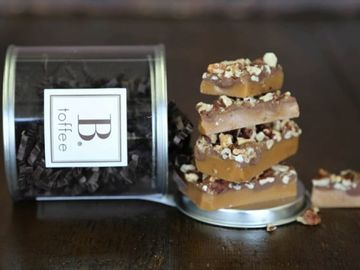 Online Listing: B. Toffee Signature Canisters - MilK Chocolate (12 bags included)