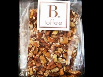 Online Listing: Individual B.Toffee Pieces-Cello Bag Milk chocolate (12 bags)