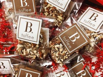 Online Listing: Individual B.Toffee Pieces- Cello Bag Dark Chocolate ( 12 bags)