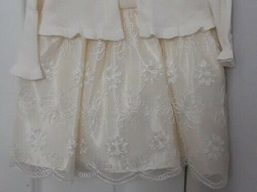 Selling with online payment: Flower Girl Dress - brand new with tags, age 18-24Mths