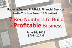 Workshop: Breakfast: 7 Key Numbers To Build A Profitable Business