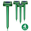 Buy Now: Premium Solar Sonic Mole Repellent 4-Pack (507 packs RRP $50ea)