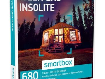 "Vente: Smartbox ""Week-end Insolite"" (69€)"