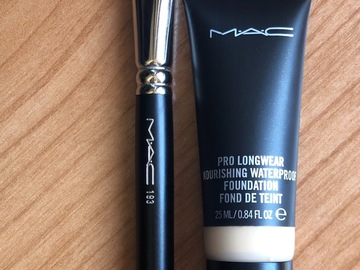 Venta: Base maquillaje Mac+ Brocha 193