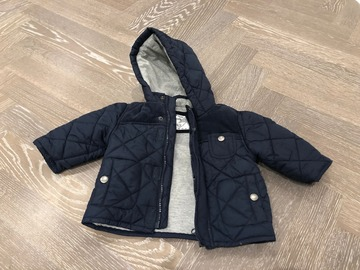 Selling with online payment: Mothercare navy blue jacket, age 3-6 Mths