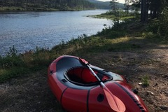 Renting out (per day): Packraft Alpackaraft Classic packraft with spreydeck