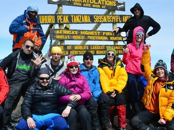 Offering with online payment: Mountain Kilimanjaro climbing