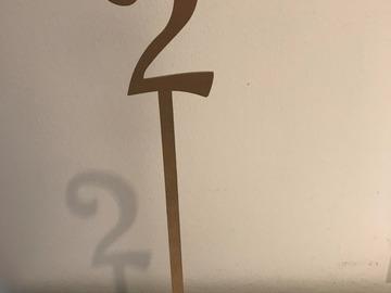 Ilmoitus: Pöytänumerot