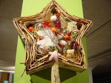 Workshop Angebot (Termine): Weihnachtlicher Tür- oder Wandschmuck