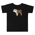 Selling: LoVe Style T-Shirt for Toddlers - Bull Dog Edition