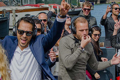 Rent per 2 hours: Silent disco Boat - max 44 people