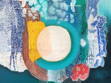 Workshop Angebot (Termine): Farblust- ein Mixed Media-Kurs