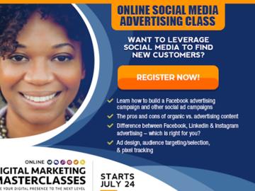 Workshop: Social Media Advertising - Online Digital Marketing Masterclass