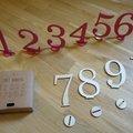 Ilmoitus: Puiset pöytänumerot