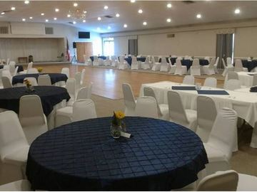 Renting Out: Preview Dining, Dance Room Grand Ballroom +Kitchen +Bar Package