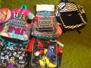 Buy Now: 10 NWT Backpacks - Assorted Designs