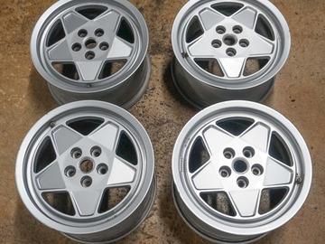 Selling: Ferrari Testarossa OEM Wheels 16x8 16x10