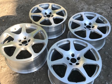 "Selling: Apptech forged wheels 19""x8.5/10"""