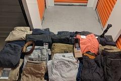 Buy Now: Men's NWOT Pants, shorts, belts lot