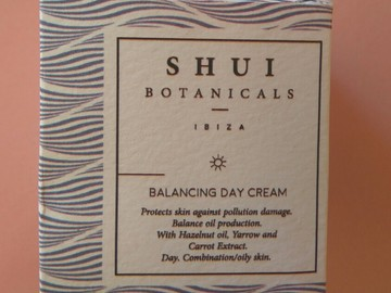 Venta: Shui Botanicals, balancing day cream