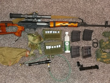 Selling: Real Sword SVD Wolverine Hydra 2 + extras