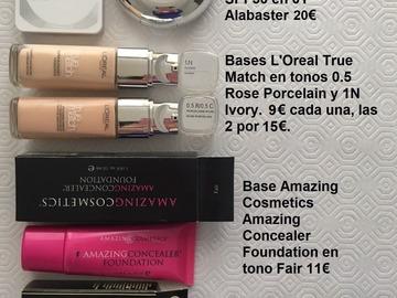 Venta: Bases maquillaje - Envío certificado incluido en todo