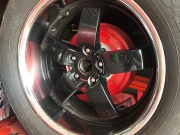 "Selling without online payment: 20"" wheel set"