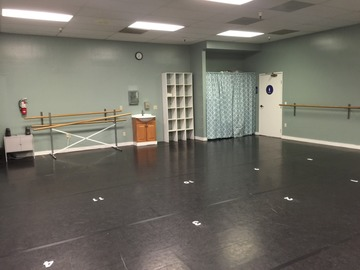 List a Space: Dance Studio for Rent