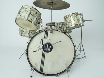"VIP Members' Sales Only: Ludwig 1941 Top Hat and Cane ""Swing Sensation"" Complete Set"