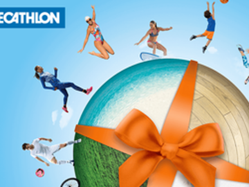 Vente: e-Cartes cadeaux Décathlon (250€)