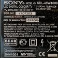 "Selling: Sony KDL-46W4000 BRAVIA - 46"" LCD TV"