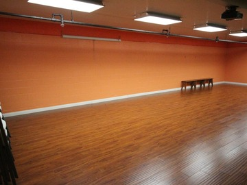 Available To Book & Pay (Hourly): Dance Studio