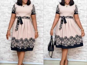 Vente avec paiement en ligne: 4 taille (L XL XXL XXXL 2019 robe Dashiki africaine nouvelle gran
