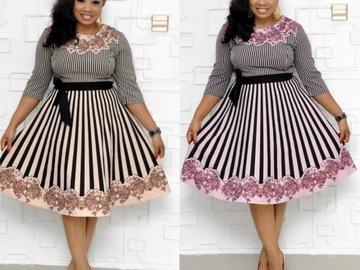 Vente avec paiement en ligne: Livraison gratuite 2019 africain Dashiki robes nouvelle mode espa