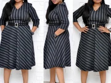Vente avec paiement en ligne: Grande taille nouveau style classique africain femmes robe Dashik