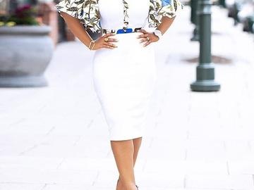Vente avec paiement en ligne: Simple Sexy Club été femmes africaines robe blanc imprimé élégant