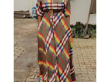Vente avec paiement en ligne: Robes longues décontracté élégant Sexy Club été bureau dame grand