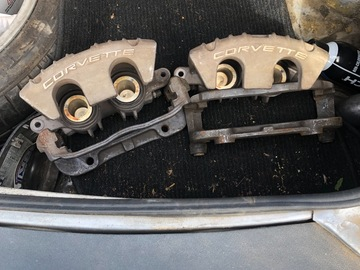 Selling with online payment: PBR Corvette front brake calipers