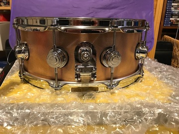 Selling with online payment: DW Drum Workshop 14x5.5 Bronze snare NEW