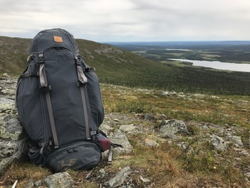 Renting out (per day): Fjällrävän Kajka 100