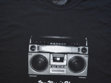 Selling with online payment: Radio T Shirt by ALK (2x)