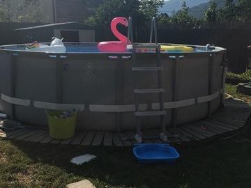 NOS JARDINS A LOUER: Jardin 500 m2 piscine / trempoline