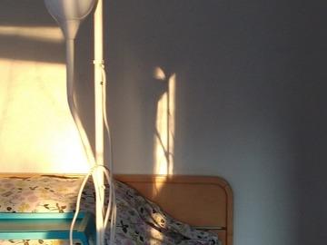 Myydään: lamp with bulb