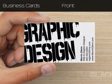 Offering with online payment: Business Card Design Service