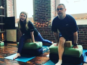 Class Offering: Accessible Aumies: Adaptive + Inclusive Yoga
