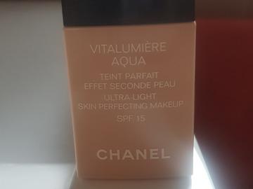 Venta: Aqua Vitalumiere Chanel 40 Beige