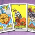 Selling: Fully interactive 3 card reading past present and future