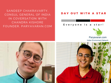 Online Donation by Fans: Day out with Sandeep Chakravarty- Consul General of India!