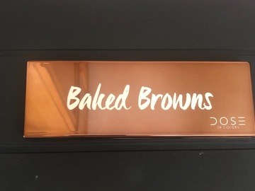 Venta: Paleta Baked Browns dose of colors