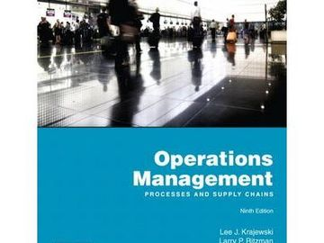 Myydään: Operations Management